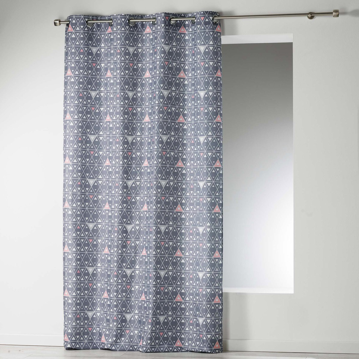 Κουρτίνα (140×260) Cylia Rideau Gris 1606325