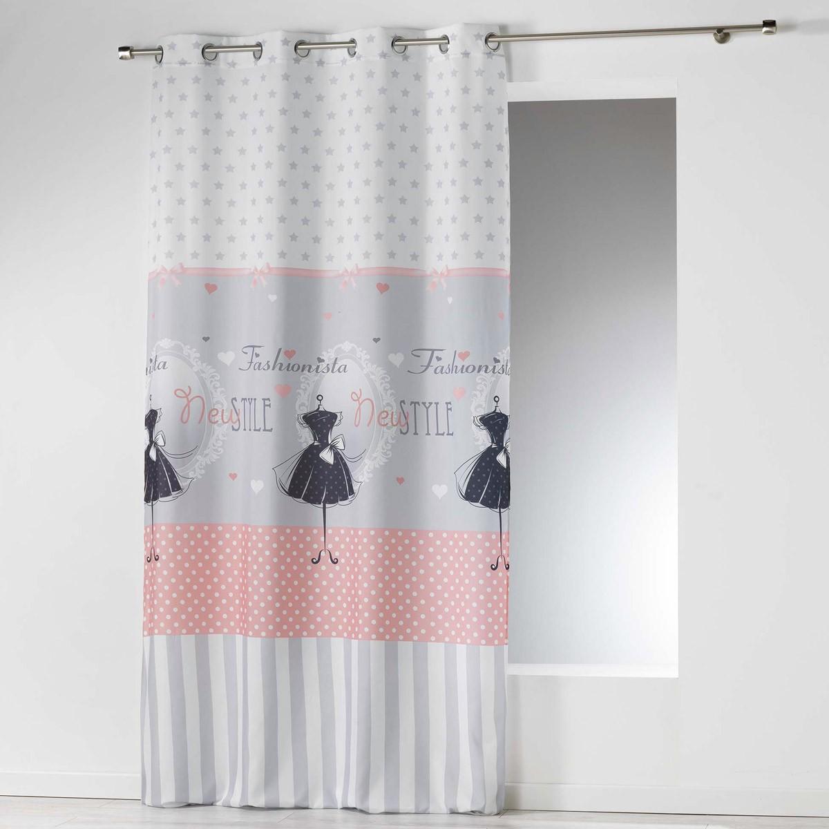 Κουρτίνα (140×260) Με Τρουκς Couture Rideau 1606321