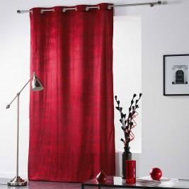 Κουρτίνα (140x260) Με Τρουκς Verona Rouge 1606762