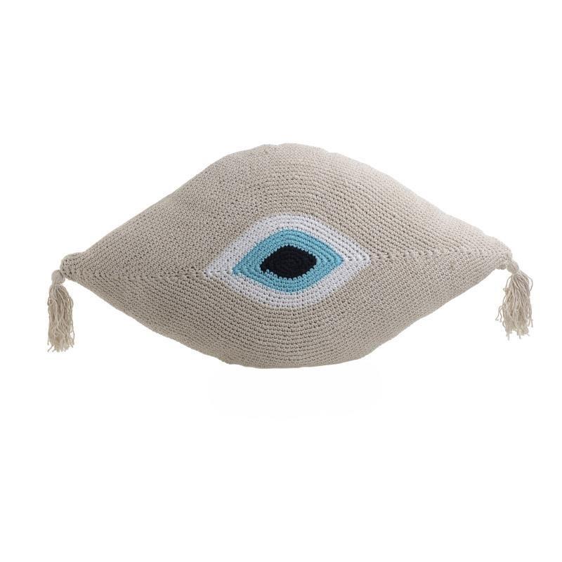 Διακοσμητικό Μαξιλάρι (45×80) InArt Beige Eye 3-40-826-0009
