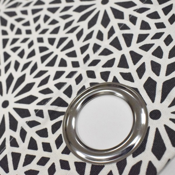 Κουρτίνα (140x240) Με Τρουκς L-C Tunis Anthracite 1606788