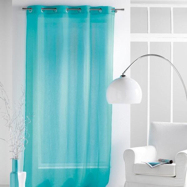 Κουρτίνα (140x240) Με Τρουκς L-C Paloma Turquoise 1622561