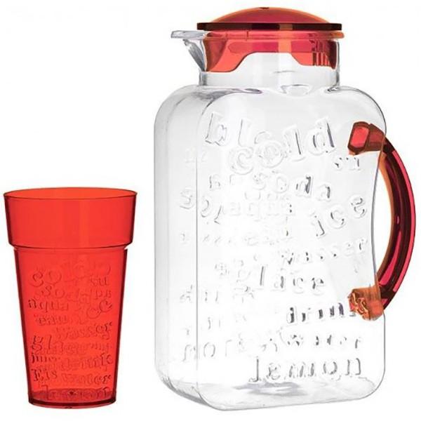 Κανάτα + Ποτήρια (Σετ 5τμχ) CL 6-60-805-0021 home   κουζίνα   τραπεζαρία   κανάτες   μπουκάλια
