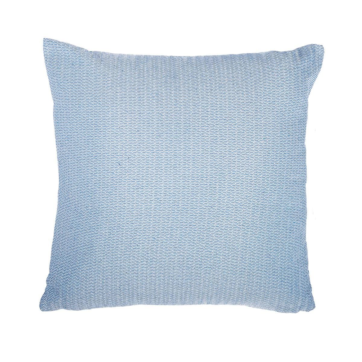 Διακοσμητική Μαξιλαροθήκη Lorenzo Santaniello Chevron Blue