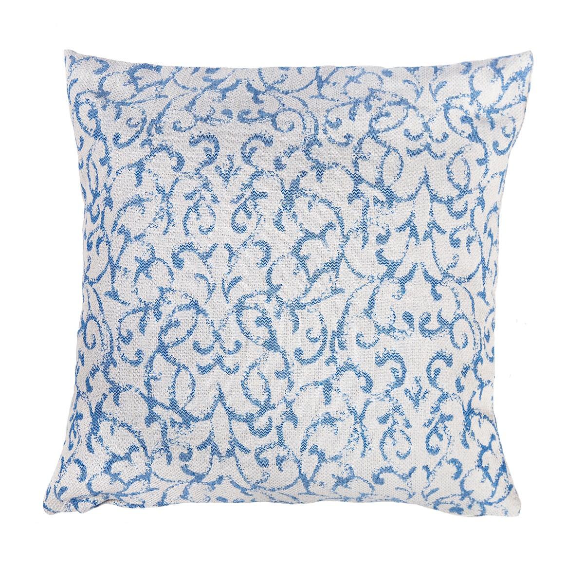 Διακοσμητική Μαξιλαροθήκη Lorenzo Santaniello Vecchio Blue