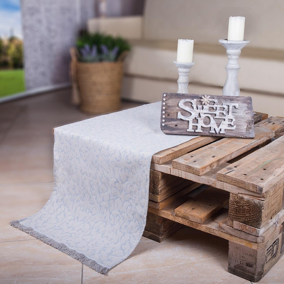 Τραβέρσα Loom To Room Vecchio Grey home   σαλόνι   τραβέρσες