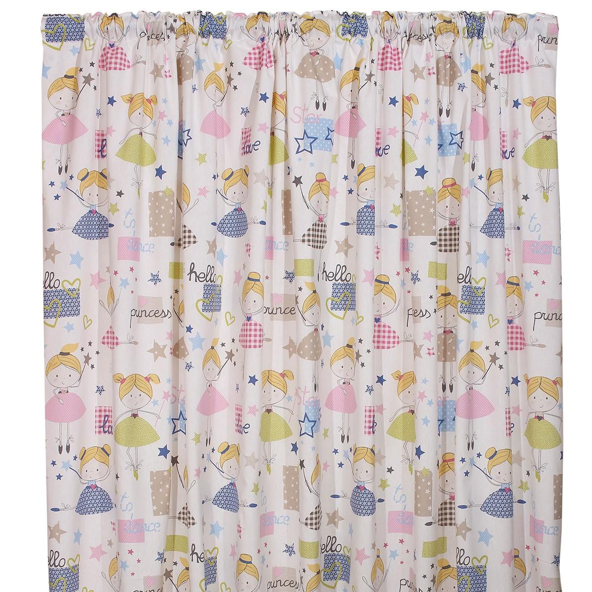 Παιδική Κουρτίνα (160×270) Viopros Curtains Φαίη