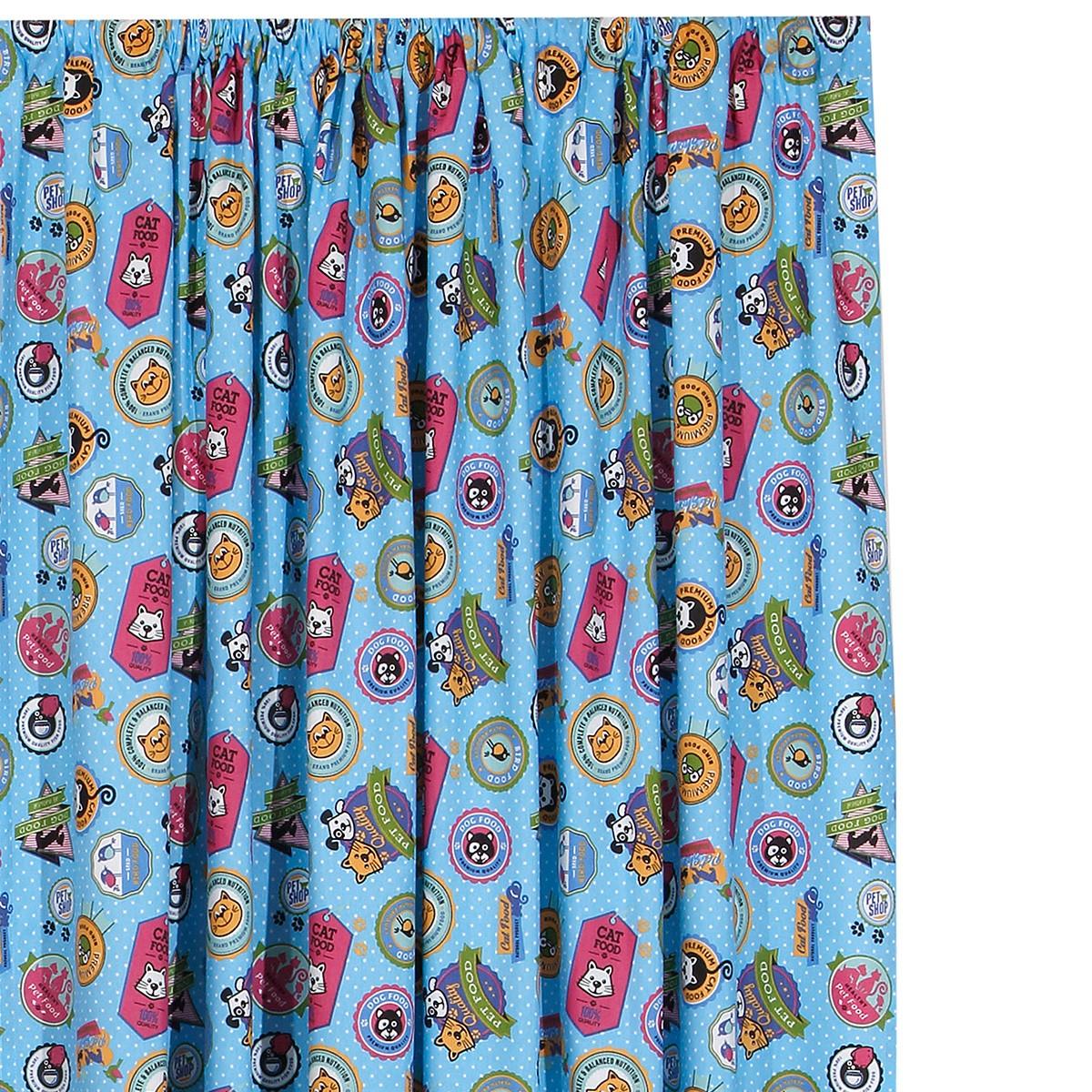 Παιδική Κουρτίνα (160×270) Viopros Curtains Πετς