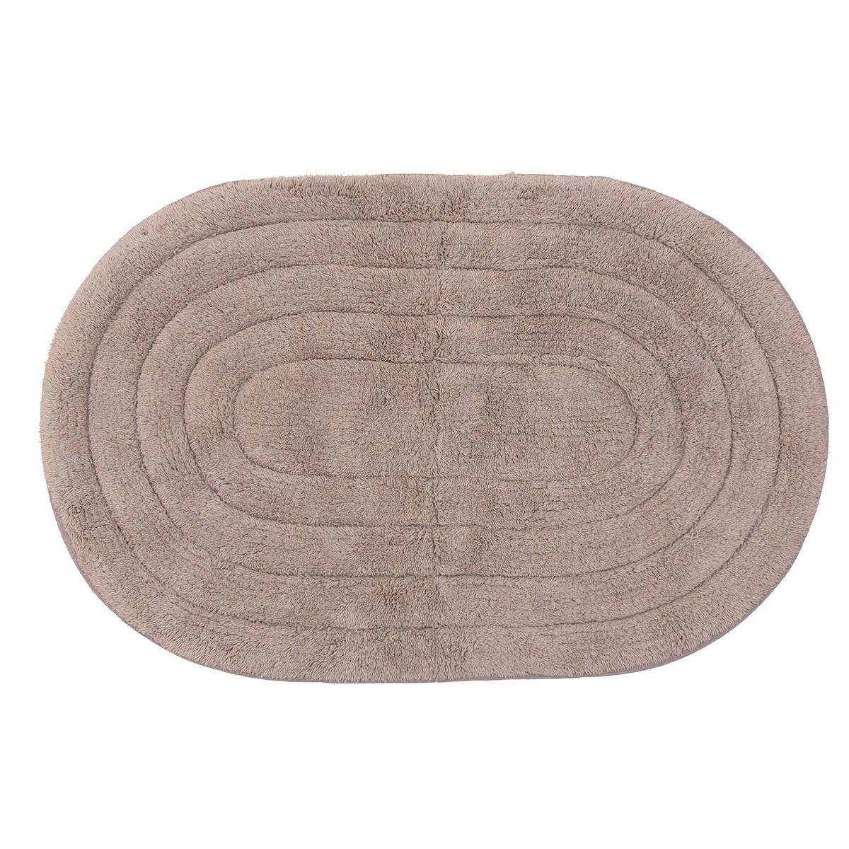 Πατάκι Μπάνιου (50×75) CL Round Beige 6-40-803-0002