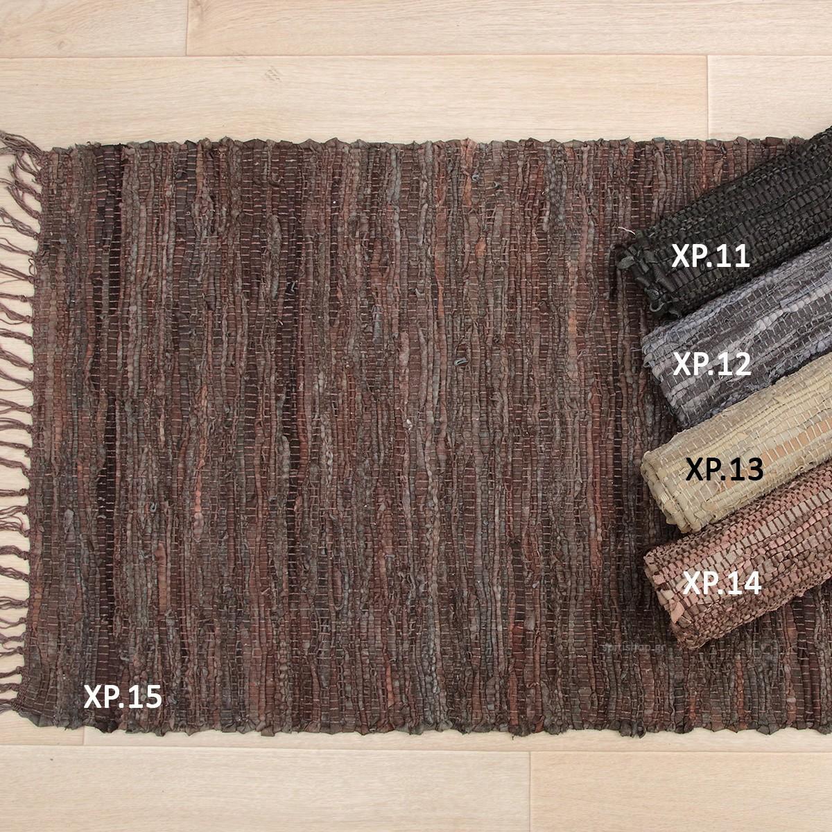 Δερμάτινο Πατάκι (50x80) Viopros Leather Ideas home   χαλιά   χαλιά τζακιού