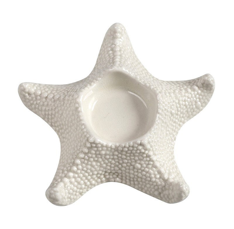 Κηροπήγιο Espiel Starfish Ivory COX112K2