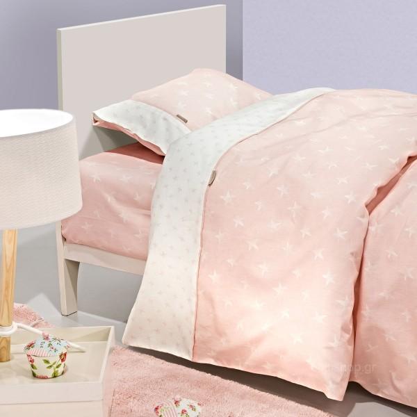 Σεντόνια Μονά (Σετ) Guy Laroche Heaven Pink
