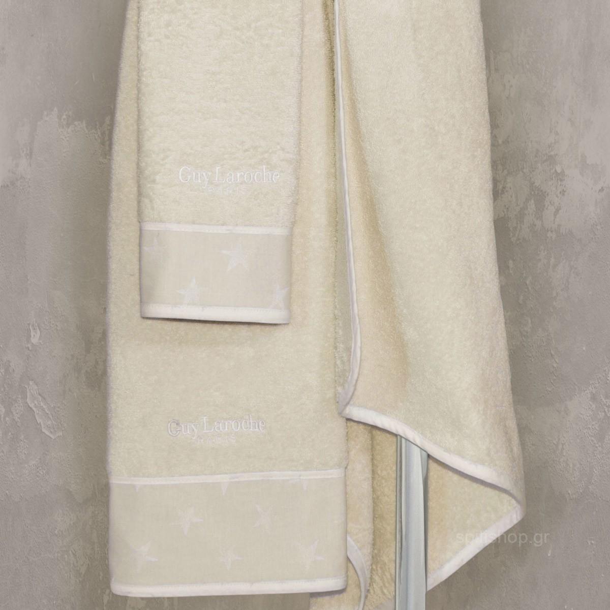 Βρεφικές Πετσέτες (Σετ 2τμχ) Guy Laroche Heaven Natural