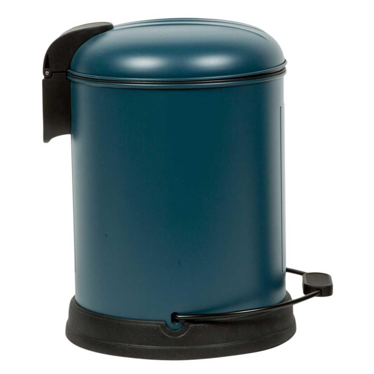 Κάδος Απορριμάτων (24×30) Marva 5Lit Velvet Turquoise 779001