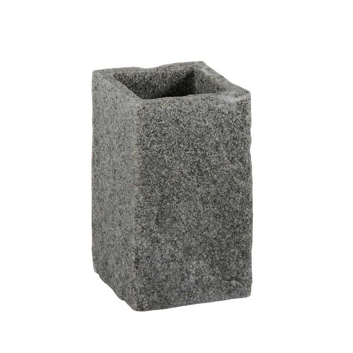 Ποτήρι Οδοντόβουρτσας Marva Rock Grey 478163