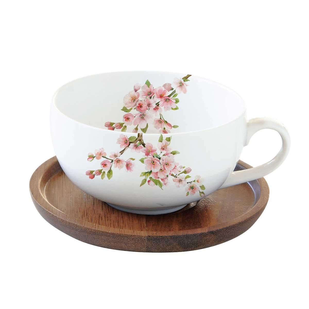 Φλυτζάνι Τσαγιού + Πιατάκι Marva Sakura 1082SΑΚU