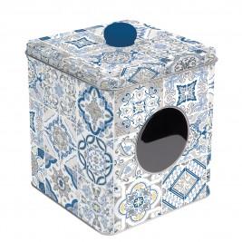 Δοχείο Με Παράθυρο Marva Casadecor Blue 092CΑDΒ