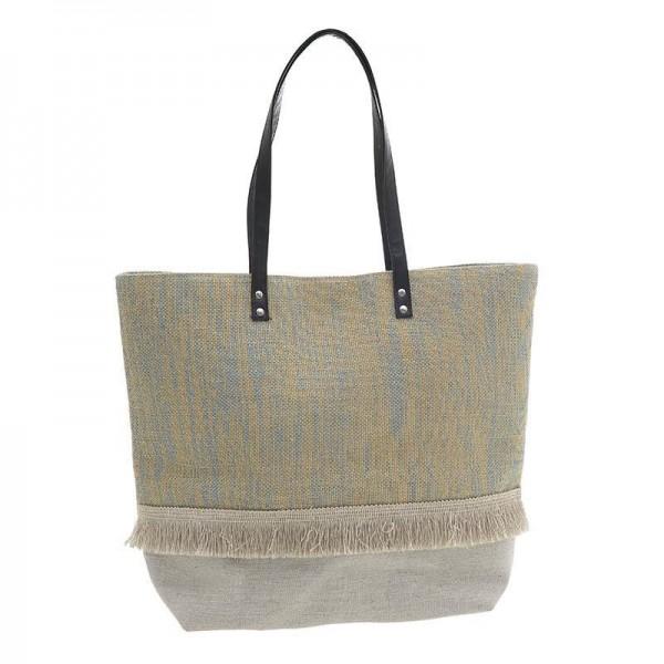 Ψάθινη Τσάντα Θαλάσσης InArt 5-42-214-0031