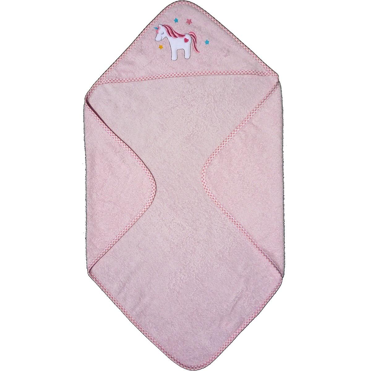 Βρεφική Κάπα Morven Unicorn Pink 1810/04