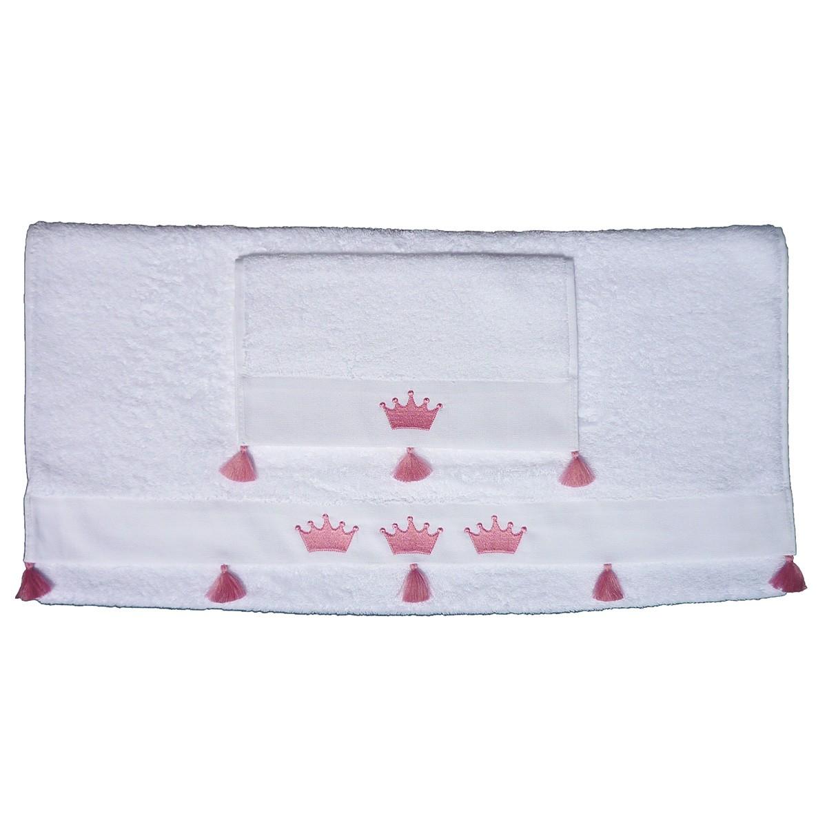 Βρεφικές Πετσέτες (Σετ 2τμχ) Morven Princess Pink 1809/04