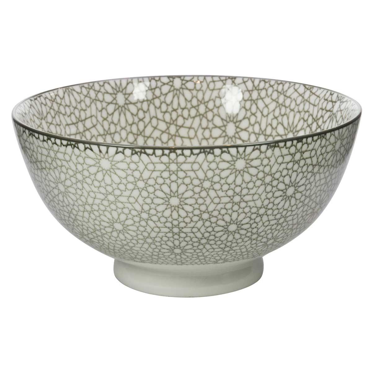 Μπωλ Marva Mosaic Grey 02262800 home   κουζίνα   τραπεζαρία   πιάτα   μπωλ