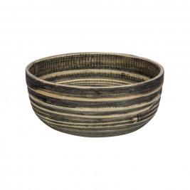 Μπωλ Marva Natural Black Bamboo Small 02139290