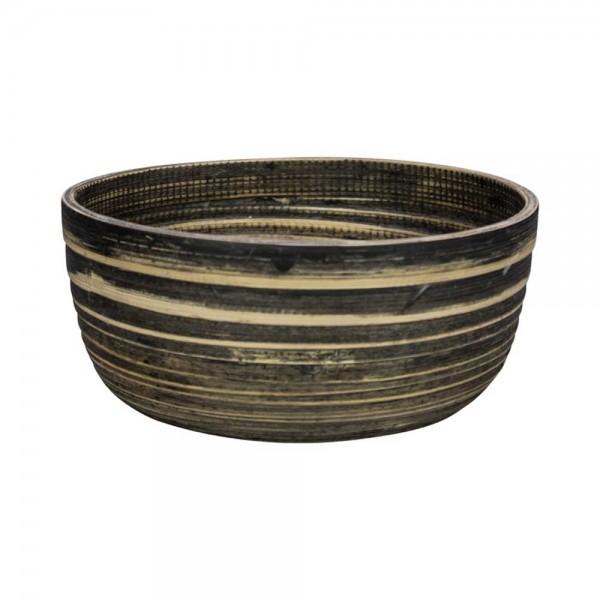 Μπωλ Marva Natural Black Bamboo Large 02139300