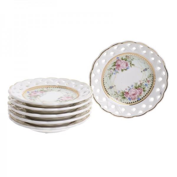 Πιάτα Γλυκού (Σετ 6τμχ) InArt 3-60-802-0054