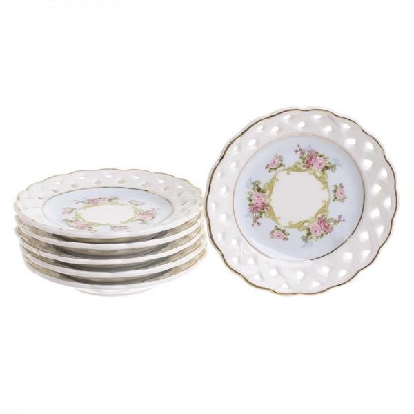 Πιάτα Γλυκού (Σετ 6τμχ) InArt 3-60-802-0081