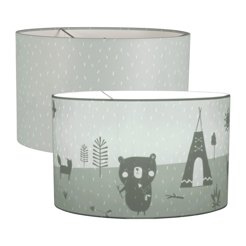 Παιδικό Φωτιστικό Οροφής Μονόφωτο Little Dutch Silhouette Springles Mint
