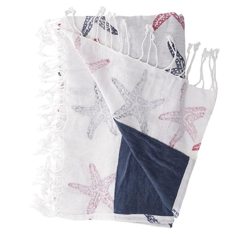 Πετσέτα Θαλάσσης-Παρεό InArt Ble 5-46-346-0017