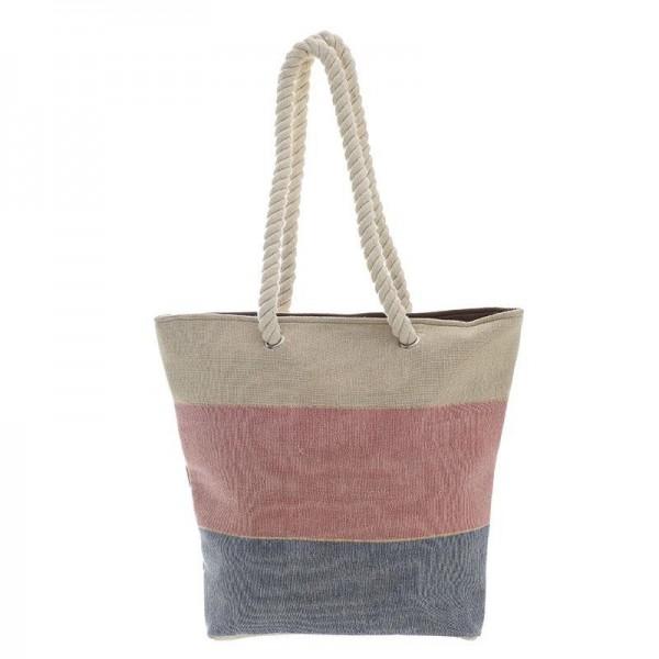 Ψάθινη Τσάντα Θαλάσσης InArt 5-42-732-0003