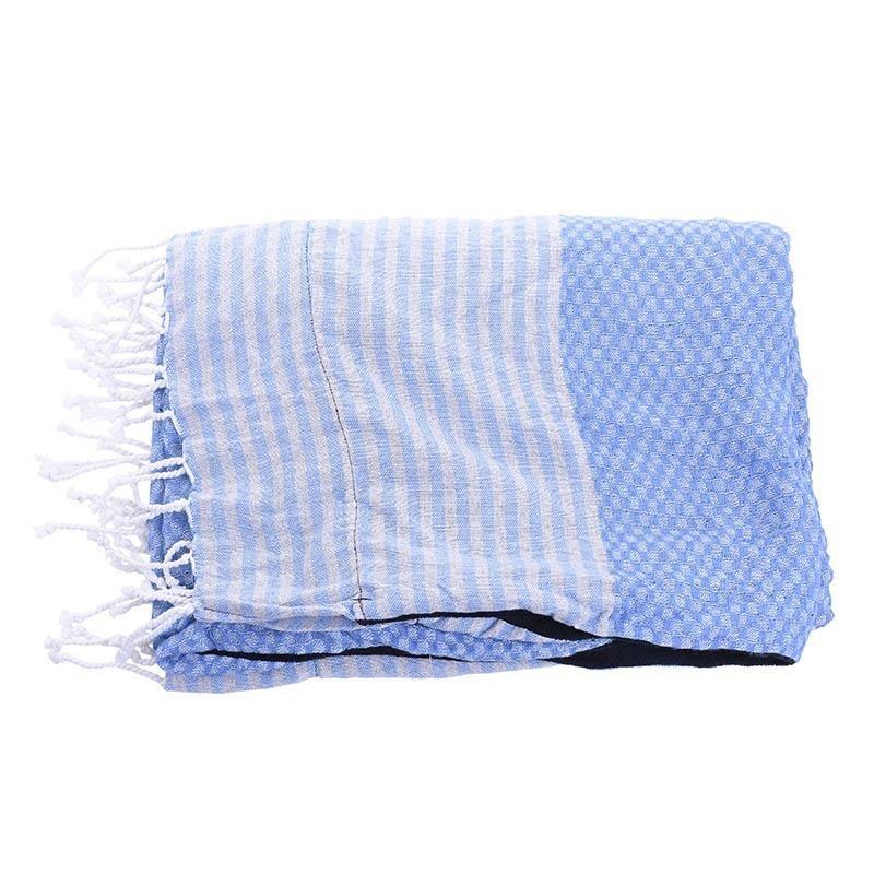Πετσέτα Θαλάσσης-Παρεό InArt Ble 5-46-807-0016