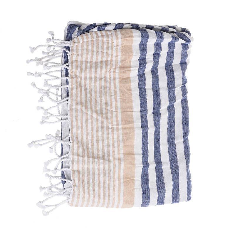 Πετσέτα Θαλάσσης-Παρεό InArt Ble 5-46-807-0018