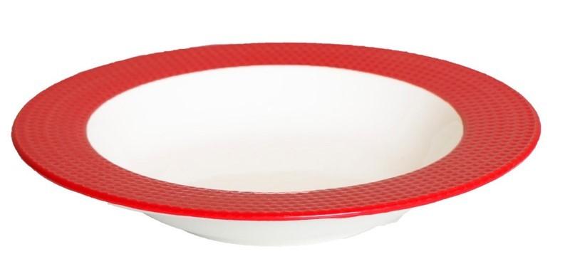 Πιάτο Βαθύ Espiel Dots Red RRA102K6 home   κουζίνα   τραπεζαρία   πιάτα   μπωλ