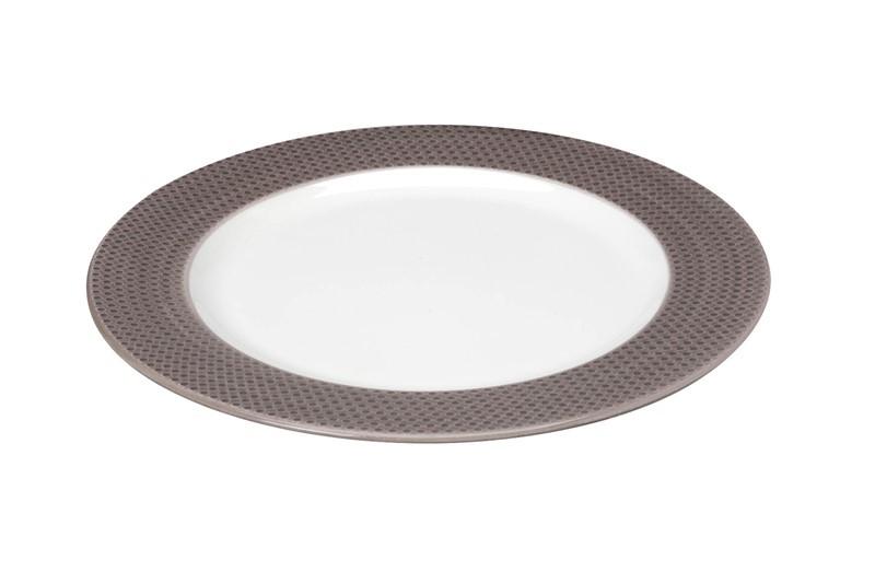 Πιάτο Ρηχό Espiel Dots Brown RRD101K6 home   κουζίνα   τραπεζαρία   πιάτα   μπωλ