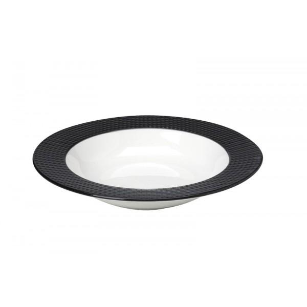 Πιάτο Βαθύ Espiel Dots Black RRE102K6