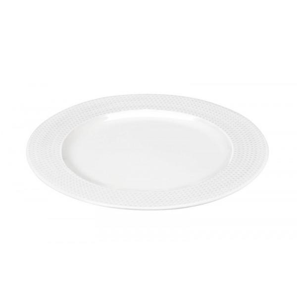 Πιάτο Φρούτου Espiel Dots White RRF103K6