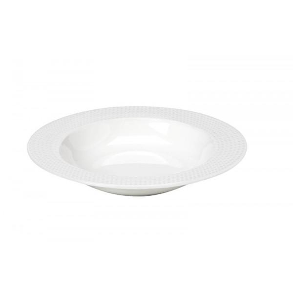 Πιάτο Βαθύ Espiel Dots White RRF102K6