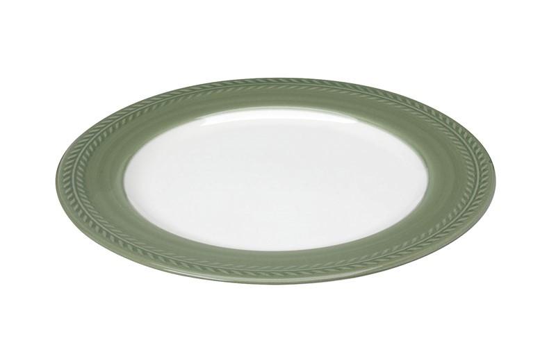 Πιάτο Ρηχό Espiel Chloe Green RRB201K6 home   κουζίνα   τραπεζαρία   πιάτα   μπωλ