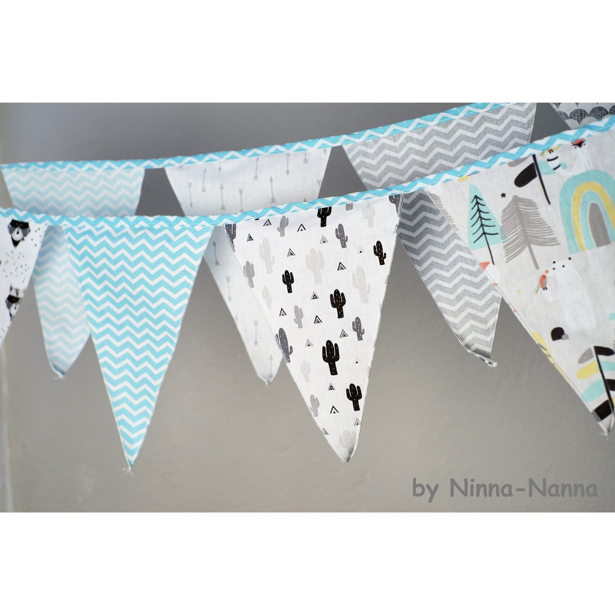 Διακοσμητικά Σημαιάκια Ninna Nanna Little Mountain home   βρεφικά   βρεφική διακόσμηση