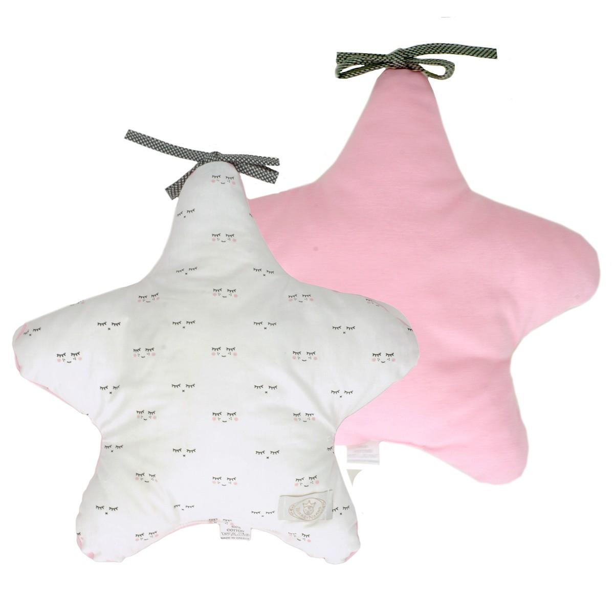 Προστατευτικό Μαξιλάρι Κούνιας Ninna Nanna Bella Ballerina Star home   βρεφικά   διακοσμητικά μαξιλάρια βρεφικά