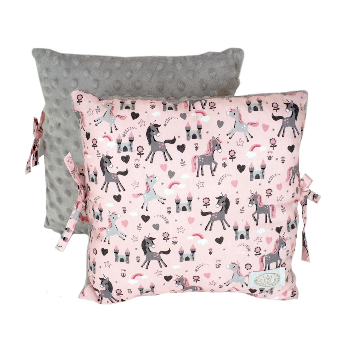 Προστατευτικό Μαξιλάρι Κούνιας Ninna Nanna Unicorn Square