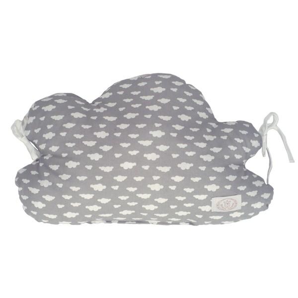 Προστατευτικό Μαξιλάρι Κούνιας Ninna Nanna Σύννεφο Γκρι