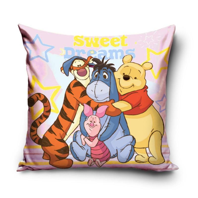 Διακοσμητική Μαξιλαροθήκη (40x40) Winnie The Pooh WP172001