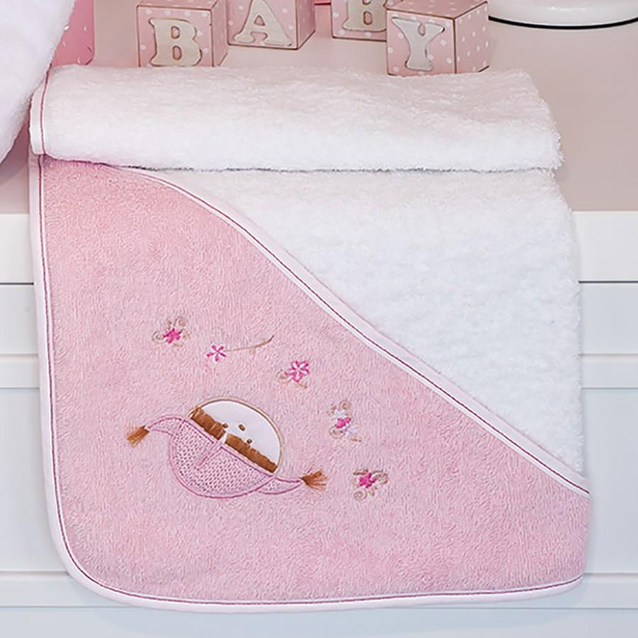 Βρεφική Κάπα Baby Oliver Pink Booboo Des 142