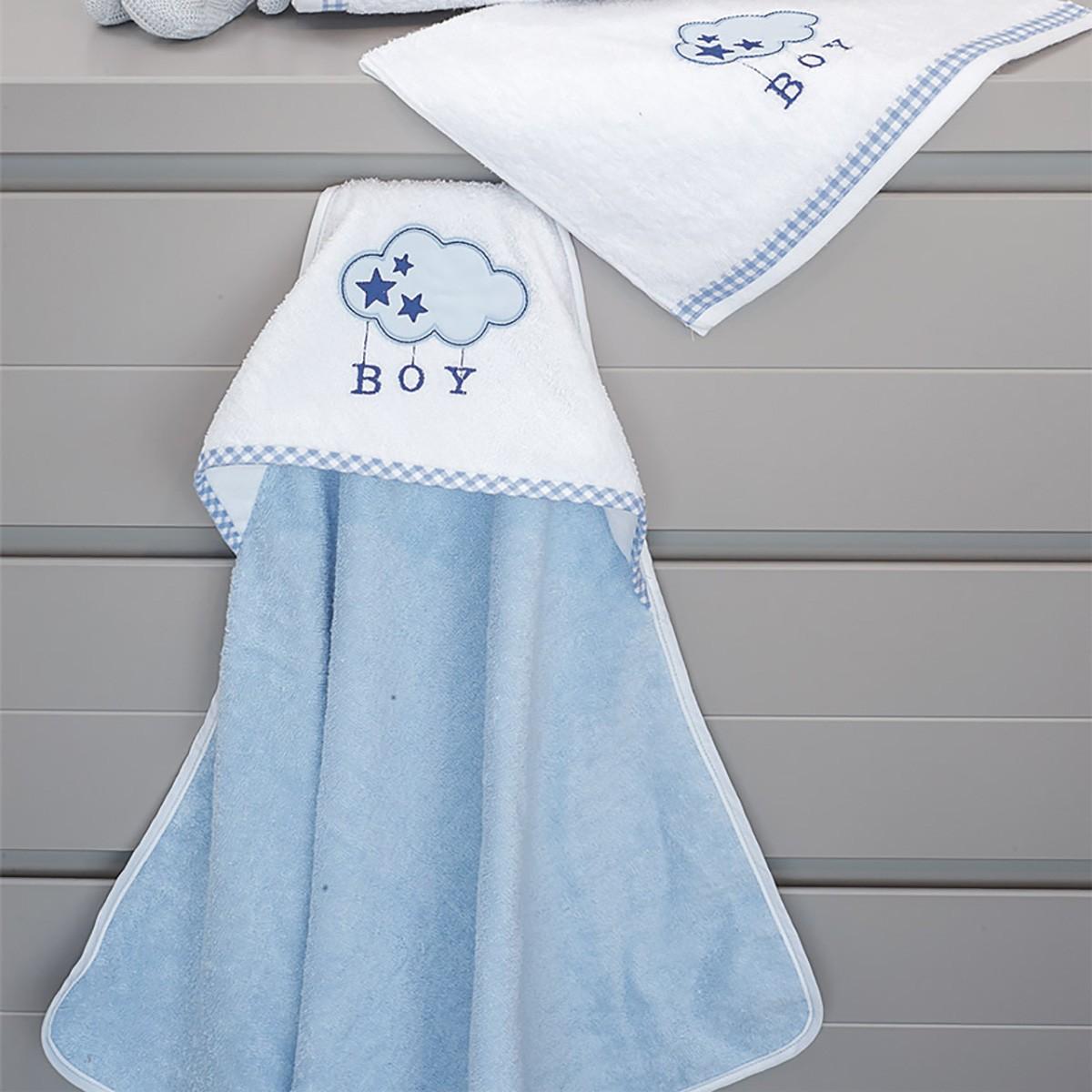 Βρεφική Κάπα Baby Oliver Blue Cloud Des 143 home   βρεφικά   κάπες βρεφικές