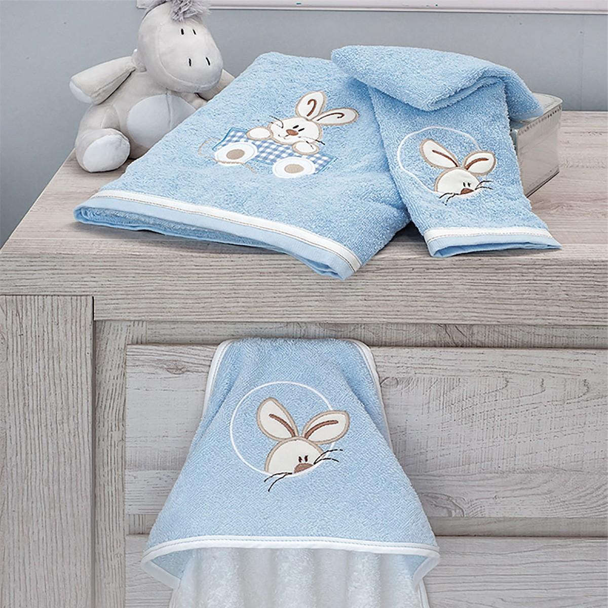 Βρεφικές Πετσέτες (Σετ 2τμχ) Baby Oliver Happy Bunny 141