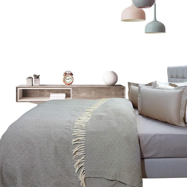 Κουβερτόριο Υπέρδιπλο Das Home Blanket Line Jacquard 384