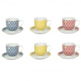 Φλυτζάνι Καφέ + Πιατάκι Marva Prisma 781001